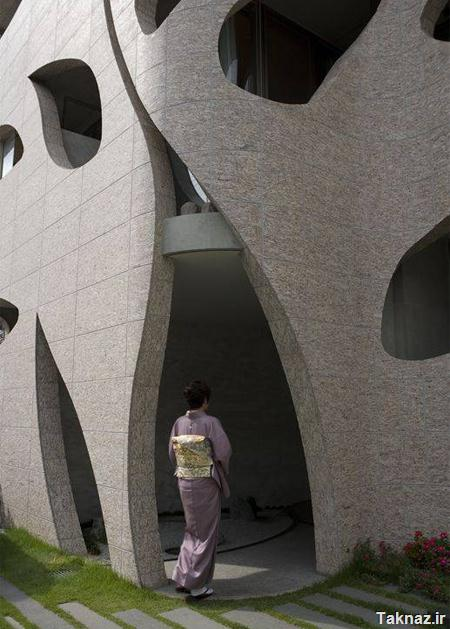 Apartment Building in Japan