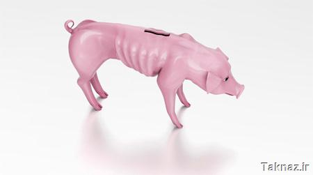 Recession Piggy Bank