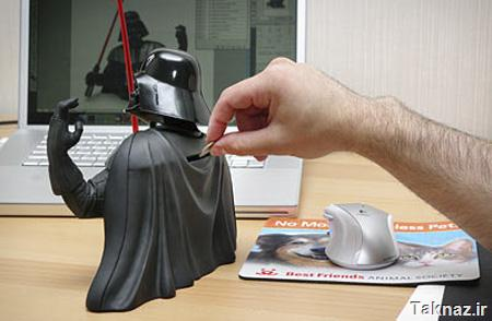 Darth Vader Coin Bank
