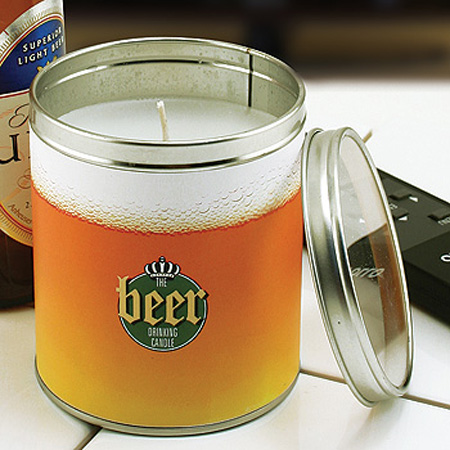 Beer Scented Candle