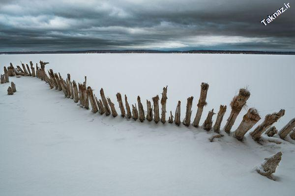 Photo: Hamlin Lake in Ludington, Michigan