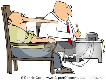 19292-Clipart-Illustration-Of-A-White-Polygraph-Examiner-Guy-Seated-In-Front-Of-A-Machine-While-Interrogating-A-Lying-Man-Whos-Nose-Keeps-Growing-Like-Pinocchio-With-Every-Fib-He-Tells-During-A-Lie-Detector-Test.jpg