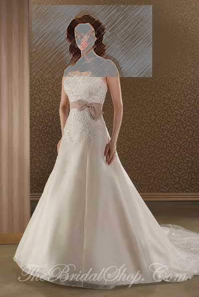 Bonny Collection by Bonny Wedding Dresses and Gowns presented by The Bridal Shop on www.taknaz.ir Style #814