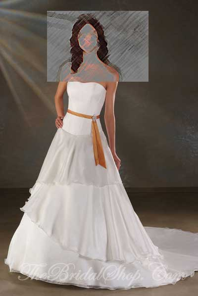 Bonny Collection by Bonny Wedding Dresses and Gowns presented by The Bridal Shop on www.taknaz.ir Style #810