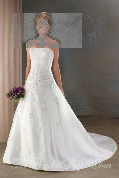 Bonny Collection by Bonny Wedding Dresses and Gowns presented by The Bridal Shop on www.taknaz.ir Style #811