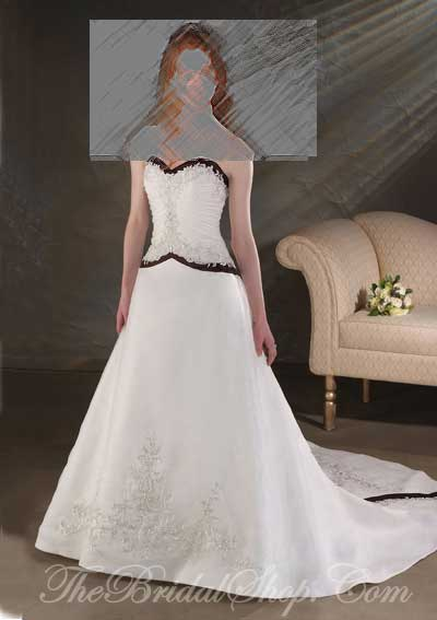 Bonny Collection by Bonny Wedding Dresses and Gowns presented by The Bridal Shop on www.taknaz.ir Style #813